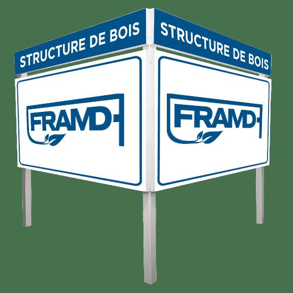 structure bois FRAMD